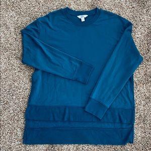 Super soft split side sweatshirt